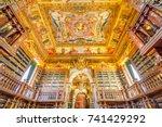 coimbra  portugal   august 14 ... | Shutterstock . vector #741429292