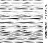 wavy line seamless pattern....   Shutterstock .eps vector #741445276