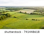 Aerial view of buckinghamshire...