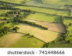 aerial view of buckinghamshire... | Shutterstock . vector #741448666