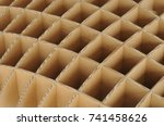 repeated structure of recycle... | Shutterstock . vector #741458626