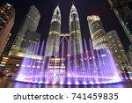 kuala lumpur  malaysia  ...   Shutterstock . vector #741459835