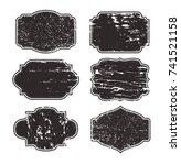 vector vintage label.grunge...   Shutterstock .eps vector #741521158
