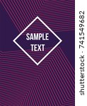 minimum geometric coverage.... | Shutterstock .eps vector #741549682