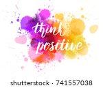 watercolor imitation background ... | Shutterstock .eps vector #741557038