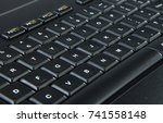 computer keyboard | Shutterstock . vector #741558148