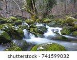 ayazma ida mountain bayramic...   Shutterstock . vector #741599032