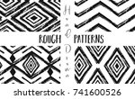 hand drawn vector abstract... | Shutterstock .eps vector #741600526