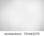 points halftone background.... | Shutterstock .eps vector #741662275
