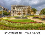serbia  belgrade   september 19 ... | Shutterstock . vector #741673705