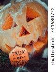 halloween cupcakes | Shutterstock . vector #741680722
