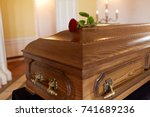 Funeral And Mourning Concept  ...