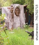 Maori Wood Sculpture  New...