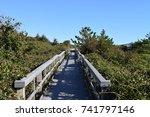 bridge to paradise | Shutterstock . vector #741797146