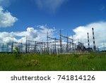 russia  perm   june 12  2015 ... | Shutterstock . vector #741814126