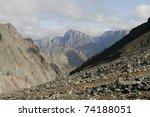 Mountains In The Transbaikalia. ...
