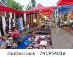 luang prabang  laos   may 2012  ... | Shutterstock . vector #741954016