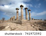 behramkale  assos  canakkale... | Shutterstock . vector #741972592