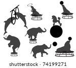 circus show | Shutterstock .eps vector #74199271
