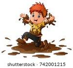 vector illustration of little...   Shutterstock .eps vector #742001215