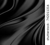 abstract luxury silk  liquid... | Shutterstock .eps vector #742011316