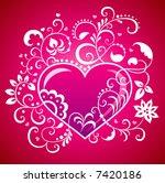 valentine s day. | Shutterstock .eps vector #7420186
