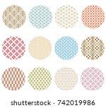 Japanese Pattern Vector....