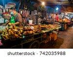 luang prabang  laos   july 24... | Shutterstock . vector #742035988