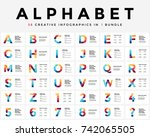 Vector Alphabet Infographic ...