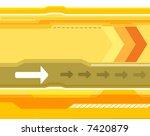 yellow bacground image | Shutterstock .eps vector #7420879