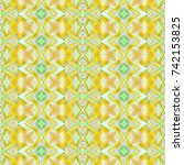 seamless colorful pattern for... | Shutterstock . vector #742153825