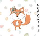 hand drawn vector illustration... | Shutterstock .eps vector #742166395