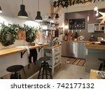 vilnius  lithuania. october ... | Shutterstock . vector #742177132