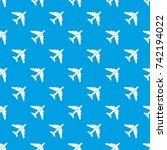 passenger airliner pattern...