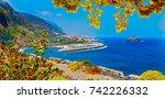 nature scenic seascape in... | Shutterstock . vector #742226332