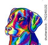 Pop Art Dog For A T Shirt Print
