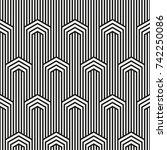 vector seamless pattern.... | Shutterstock .eps vector #742250086