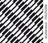 vector seamless pattern.... | Shutterstock .eps vector #742252306