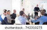 relaxed informal it business... | Shutterstock . vector #742310275