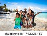 boracay  philippines march 20 ...   Shutterstock . vector #742328452
