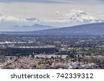 mexico city  march 16  2015 ... | Shutterstock . vector #742339312