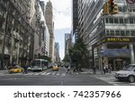 27 sep 2017. madison ave and e... | Shutterstock . vector #742357966