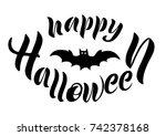 vector illustration of happy... | Shutterstock .eps vector #742378168