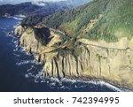 Aerial Image Of Oregon Coastline