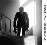 the slender man | Shutterstock . vector #742419205