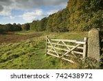 An Open Farm Gate In Nidderdal...