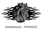 Horse Cartoon Tattoo For Desig...