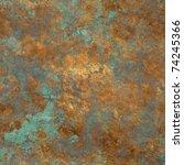 vintage bronze seamless... | Shutterstock . vector #74245366