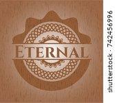 eternal wood signboards | Shutterstock .eps vector #742456996