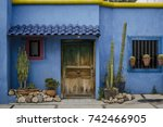 Photo Of A Colorful Happy Hous...
